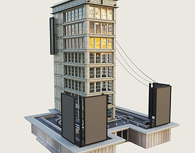 3D model Building Skyscraper 6