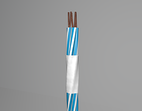 3D Cable rotation animation