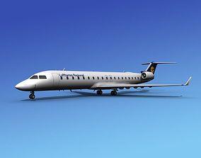 Bombardier CRJ700 Lufthansa 3D model