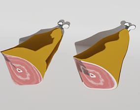 Ham Toon hight and 3D asset