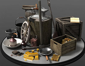 Tools Containers 3D model