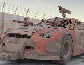 3D Apocalyptic GT-R