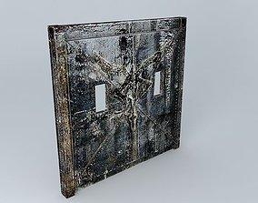 3D Resident Evil 4 Los Illuminados Door...