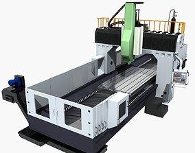Milling machine 3D model