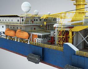 3D model Tender Rig