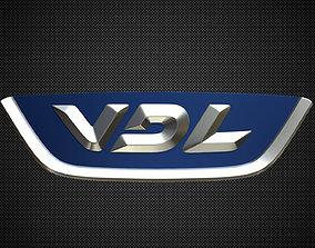 vdl logo logos 3D model