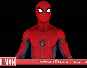 3D model Spider-Man - StarkSuit