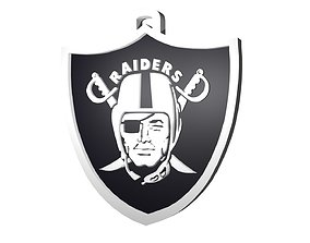 3D model Raiders custom pendant large