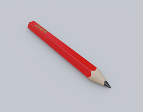office-supply Pencil 3D model