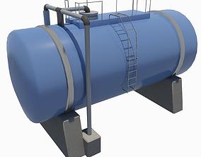 3D model Industrial Tank