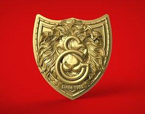 3D print model Galatasaray Football Club Logo