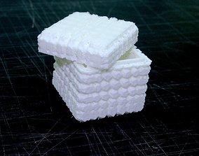 3D printable model Unique Decorated Boxes openscad