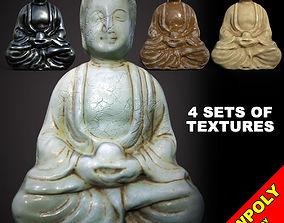 3D model Buddha - statuette