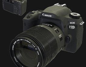 Camera Canon Eos 77d 3D model