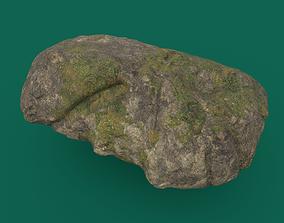 3D model Mossy Rock 1 PBR