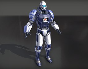 Sentinel Guard Fully Rigged 3D model