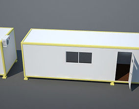 animated Habitable Container 3D model