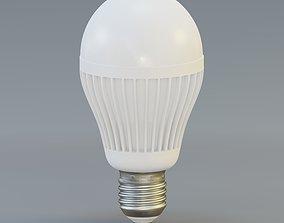 LED Carved Bulb 3D model
