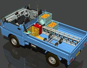 3D model Orchard harvest car