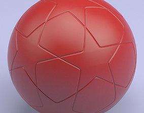 Championship Soccerball STL 3D printable model