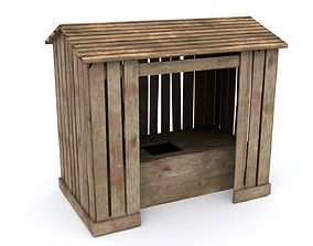 3D model realtime Outhouse