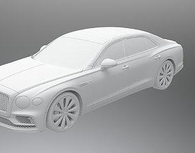 game-ready 3D model Bentley Flying Spur 2020