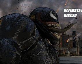 3D model Ultimate Venom Rigged