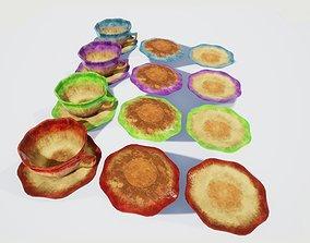 3D asset Teacup and Saucer Colors