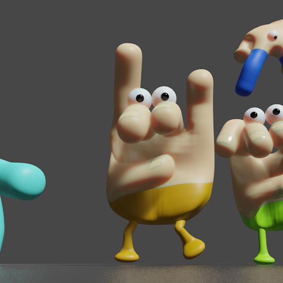 Hand Characters