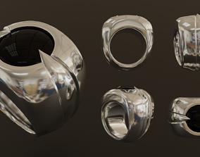3D model Ring - Spider Eye