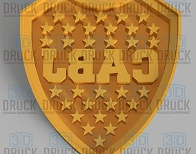 3D print model Boca Junior Football Club Cookie Cutter