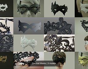 Carnival Masks 3D