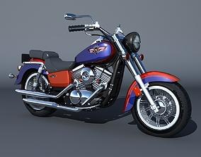 3D model Kawasaki Vulcan Classic 1500