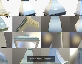 kitchen hoods 3D model