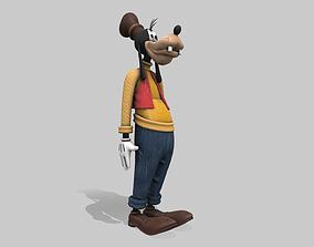 3D model Goofy - Tutorial Included