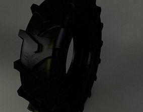 tractor tire part 3D