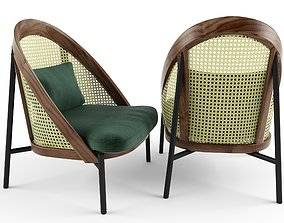 3D Chair Wooden armchair Wiener GTV Design