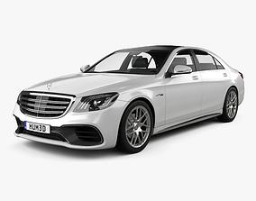 Mercedes-Benz S-class V222 AMG 2017 3D