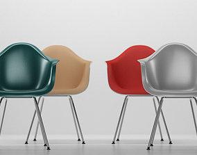 Vitra Eames plastic armchair DAX 3D