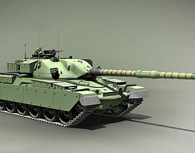 army Chieftain Main Battle Tank England 1959 3D