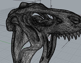 3D print model T-Rex Ring