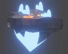 Lava Island 3D model low-poly