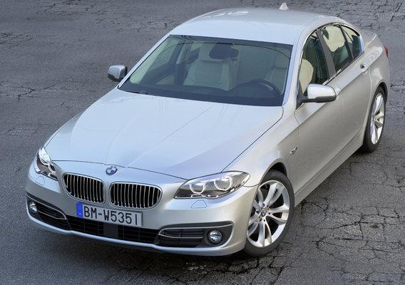 BMW 5-series F10 LCI 2014
