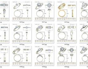 3D print model Rings in bulk-12