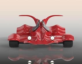 racing 3D model Go kart
