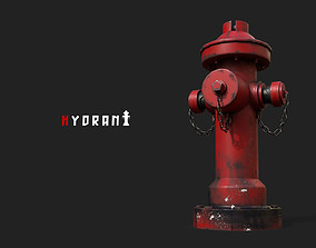 road hydrant 3D