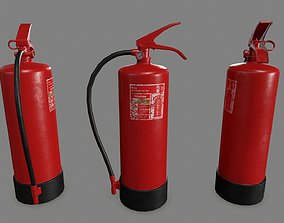 extinguisher 3D model VR / AR ready Fire Extinguisher