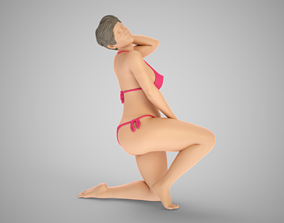 Average Weight Woman 3D print model