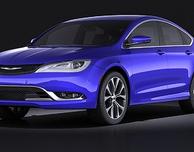 3D model Chrysler 200 2015 VRAY