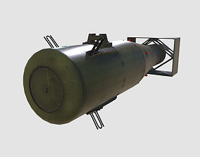 3D asset Little Boy Atom Bomb